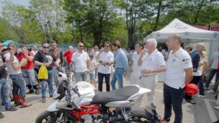 Samarate, 20° MV Agusta Revival, Magni ha presentato la nuova Storia all'Owners Meeting